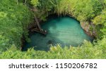 One of the most beautiful spots for swimming To Sua Trench, Samoa