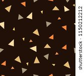 triangle seamless pattern.... | Shutterstock .eps vector #1150212212