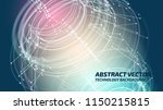 technology background. abstract ... | Shutterstock .eps vector #1150215815