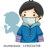 illustration of a kid boy... | Shutterstock .eps vector #1150216748