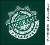 aberrant written on a blackboard   Shutterstock .eps vector #1150228628
