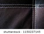 black leather texture or... | Shutterstock . vector #1150237145