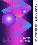 vector minimalistic cover... | Shutterstock .eps vector #1150238462