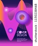 vector minimalistic cover... | Shutterstock .eps vector #1150238468