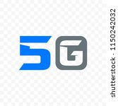 5g internet network vector logo ...