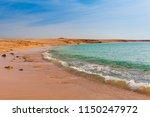 sea coast sand beach in the ras ... | Shutterstock . vector #1150247972