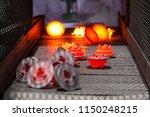 hot forging gear production line | Shutterstock . vector #1150248215