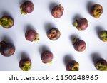 mangosteen type of tropical...   Shutterstock . vector #1150248965