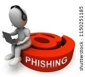 phishing e mail internet threat ... | Shutterstock . vector #1150251185