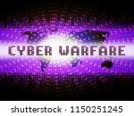 cyberwarfare digital armed... | Shutterstock . vector #1150251245