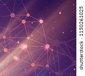 digital global network.... | Shutterstock .eps vector #1150261025