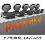 phishing e mail internet threat ... | Shutterstock . vector #1150266905