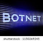 botnet illegal scam network...   Shutterstock . vector #1150269245