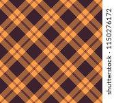 seamless tartan vector pattern | Shutterstock .eps vector #1150276172