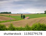 biei is a small town surrounded ...   Shutterstock . vector #1150279178