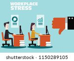 business people feedback.... | Shutterstock .eps vector #1150289105