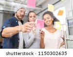 business people meeting at... | Shutterstock . vector #1150302635