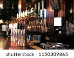 classic bar with bar counter... | Shutterstock . vector #1150309865