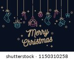 vector linear neon design...   Shutterstock .eps vector #1150310258