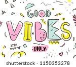tee print. typography with...   Shutterstock .eps vector #1150353278