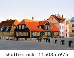 touristic information center in ... | Shutterstock . vector #1150355975