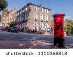 london  august  2018  a... | Shutterstock . vector #1150368818