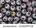 Group Of Empty Aluminium Can...