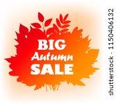 vector autumn bouquet made of... | Shutterstock .eps vector #1150406132