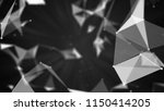 abstract polygonal background... | Shutterstock . vector #1150414205