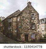 deans village in edinburgh  | Shutterstock . vector #1150414778