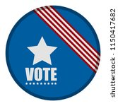 united states campaign button | Shutterstock .eps vector #1150417682
