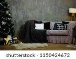 christmas home interior | Shutterstock . vector #1150424672