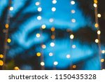 Blurred Light Bokeh With...