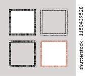 set of geometric frames | Shutterstock .eps vector #1150439528