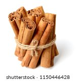 close up of cinnamon sticks... | Shutterstock . vector #1150446428