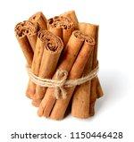 close up of cinnamon sticks... | Shutterstock . vector #1150446428
