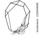 vector diamond rock jewelry...   Shutterstock .eps vector #1150448408