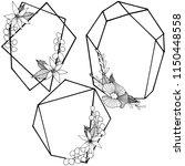 vector diamond rock jewelry...   Shutterstock .eps vector #1150448558