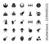 star wars glyph icon pack | Shutterstock .eps vector #1150450112