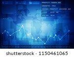 2d rendering stock market... | Shutterstock . vector #1150461065