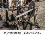 objets handicraft fair outrora... | Shutterstock . vector #1150481462