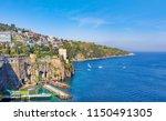 daylight view of coastline... | Shutterstock . vector #1150491305