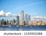 midtown new york city from...   Shutterstock . vector #1150501088