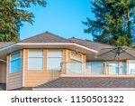 a perfect neighborhood. houses... | Shutterstock . vector #1150501322