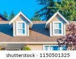 a perfect neighborhood. houses... | Shutterstock . vector #1150501325