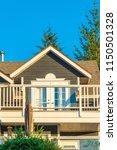 a perfect neighborhood. houses... | Shutterstock . vector #1150501328