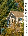 a perfect neighborhood. houses... | Shutterstock . vector #1150501352