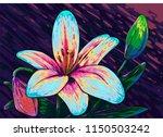 Flower Lilly Modern Vector Gog...