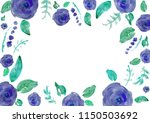 painted watercolor composition... | Shutterstock . vector #1150503692