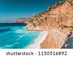 kaputas beach   lycia coast on... | Shutterstock . vector #1150516892